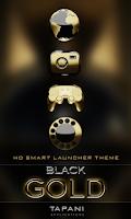 Screenshot of Smart Launcher theme b. gold