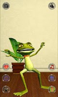 Screenshot of Talking Frog Free