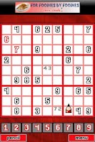 Screenshot of Infinite Sudoku Puzzles FREE!!
