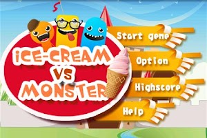 Screenshot of Icecream Vs Monster