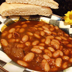 Smoky Baked Beans (Originally Canary Baked Beans)