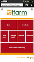 Screenshot of iFarm