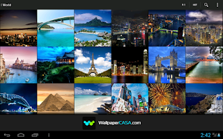 Screenshot of TravelPix HD