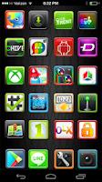 Screenshot of candy Apex,Nova,aAdw,Holo,Go