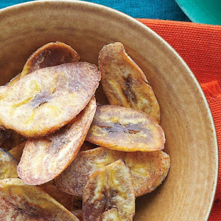 Baked Plantain Chips