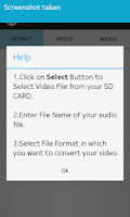 Screenshot of Video to MP3 Audio Converter