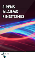 Screenshot of Sirens and Alarms Ringtones