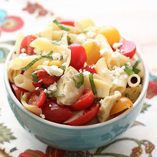 Italian Pasta Salad Artichoke Hearts Recipes