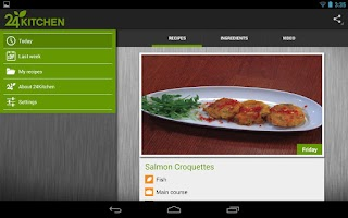 Screenshot of 24Kitchen Recipe of the Day