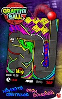 Screenshot of Graffiti Ball