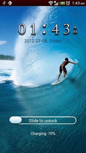 GO Locker Surfer Theme