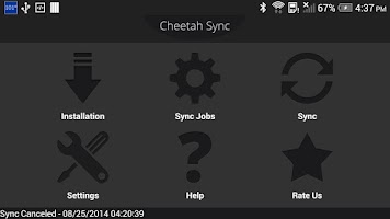 Screenshot of Folder Sync : File Syncing