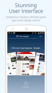 CM Browser - Fast & Light for Lollipop - Android 5.0