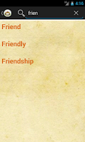 Screenshot of Sindhi Dictionary