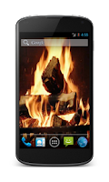 Screenshot of Fireplace Video Live Wallpaper