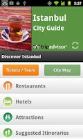 Screenshot of Istanbul City Guide