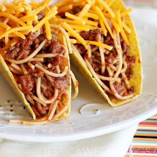 Spaghetti tacos (courtesy of ICARLY)