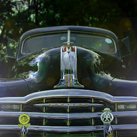 Pontiac by Jacques Prinsloo - Transportation Automobiles ( silver streak, lights, dusk, black, pontiac )