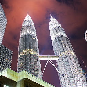 Twin Tower by Mulawardi Sutanto - Buildings & Architecture Office Buildings & Hotels ( twin tower, buliding )