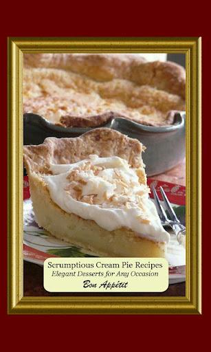 Scrumptious Cream Pie Recipes