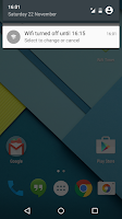Screenshot of Wifi Timer