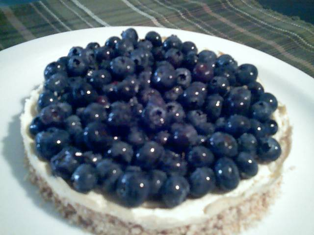 Blueberry Tofu Cheesecake Recipe | Yummly
