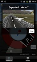 Screenshot of RunWay Calculator