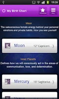 Screenshot of Horoscope - Birth Chart