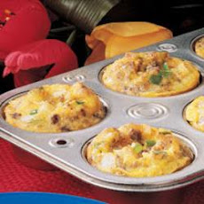 Scrambled Egg Muffins