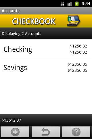 checkbook-free for android screenshot