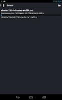 Screenshot of Swarm Torrent Client