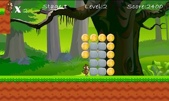 Screenshot of Jungle Monkey Saga