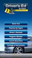 Screenshot of Drivers Ed - DMV Permit Test