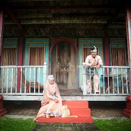 Malaysian wedding by Ariff Ismail - Wedding Bride