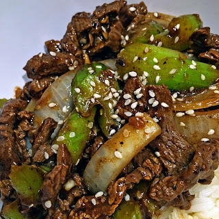 Black Bean Beef Stir Fry with Celery