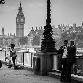 by Phil Milmine - City,  Street & Park  Street Scenes