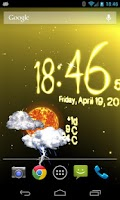 Screenshot of Weather Live Wallpaper