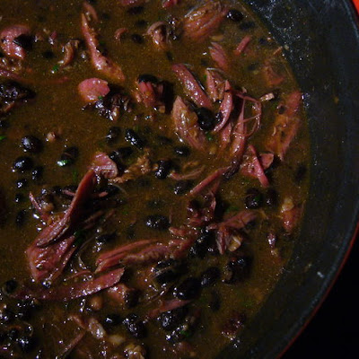 Pomegranate-Chipotle Black Bean Soup