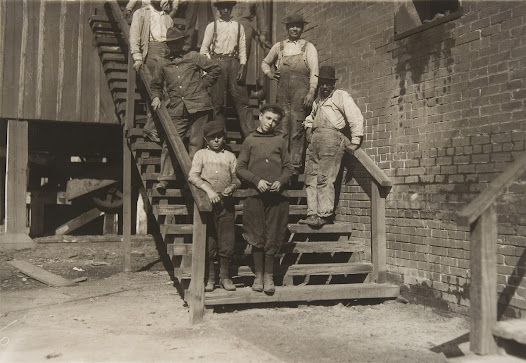 In 1910 children under the age of fifteen made up nearly a fifth of the nation's workforce.
