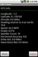 Screenshot of Bike-O-Meter