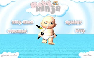 Screenshot of Baby Ninja Lite