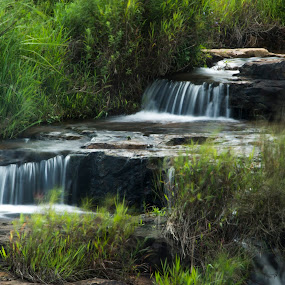 Slow Shutter by Malcolm Duke - Landscapes Waterscapes ( water, cp, shutter, waterfall, fall, slow, filter, , long, exposure, daytime, edition, challenge )