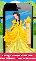 Screenshot of Charming Princess Dressup