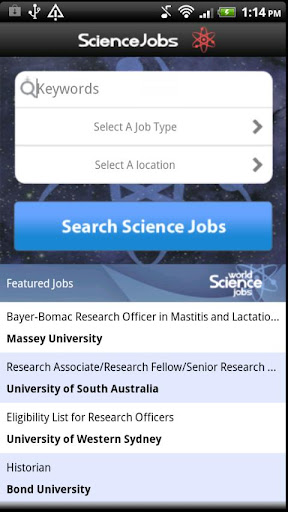 World Science Jobs