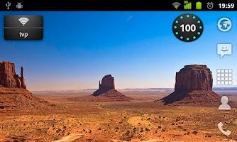 Screenshot of Wi-Fi Widget