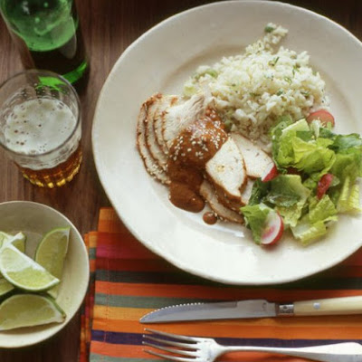 Turkey with Mole Sauce