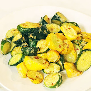 Roasted Squash with Parmesan