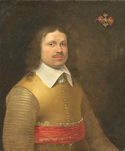 RIJKS: Monogrammist IVA, anoniem: painting 1645