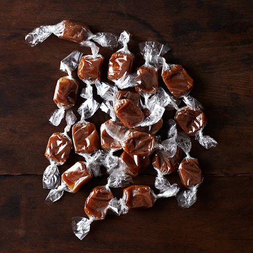 Maple + Cracked Black Pepper Caramels
