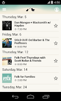 Screenshot of Winnipeg Folk Fest 2015